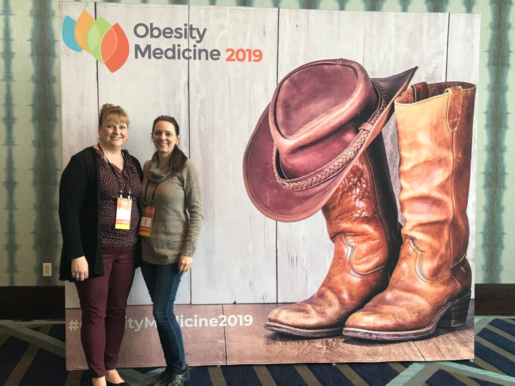 Heartland Weight Loss staff at the Obesity Conference